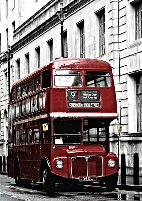 London bus, by Deni